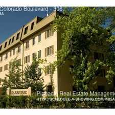 Rental info for 1685 Colorado Boulevard in the City Park area