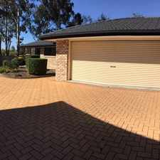 Rental info for OPEN HOME: 1 OCT @ 10:30AM & 3:45PM HOME IN SECURE COMPLEX - - in the Sinnamon Park area