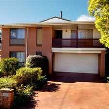 Rental info for Rangeville . 4 Bedroom and Great Location in the Toowoomba area