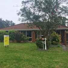 Rental info for 3 Bedroom Home Overlooking Reserve - Pets on Application in the Albion Park area