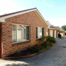 Rental info for WOONONA $550 in the Russell Vale area