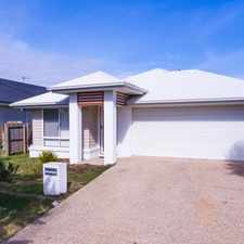 Rental info for FAMILY HOME IN COVA ESTATE HOPE ISLAND in the Gold Coast area