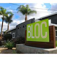 Rental info for The Bloc in the Anaheim area