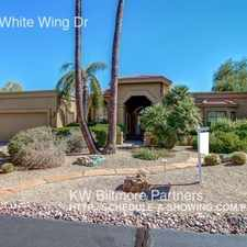 Rental info for 18909 E White Wing Dr