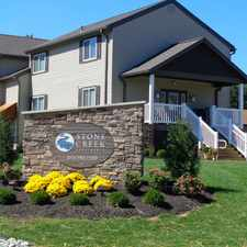 Rental info for Stone Creek Apartments