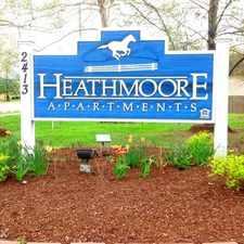 Rental info for Heathmoore Apartments