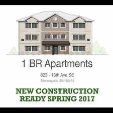 Rental info for Elmwood Apartments 823 15th Avenue SE in the Minneapolis area