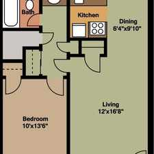 Rental info for Amazing 2 bedroom, 1 bath for rent. $458/mo
