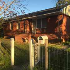 Rental info for Modern Family Home in the Nowra - Bomaderry area
