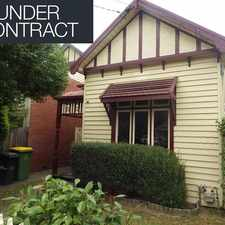 Rental info for Stunning Period home in a most sought after location of Thornbury!