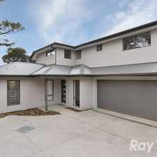 Rental info for Generously sized 3 bedroom townhouse close to shops and transport in the Bayswater area