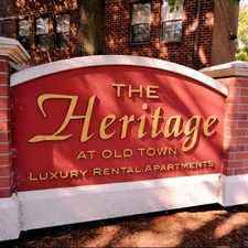 Rental info for Heritage at Old Town