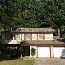 Rental info for Beautiful home with 2 car garage! in the Newell South area