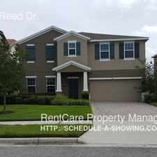 Rental info for 861 Marsh Reed Dr. in the Winter Garden area