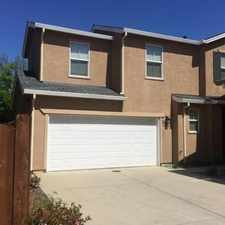 Rental info for This Town Home is fantastic. Washer/Dryer Hookups!