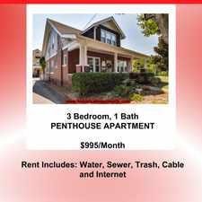 Rental info for Beautiful 3 Bedroom Apartment in Clarksville, TN