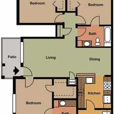 Rental info for 3 bedrooms Apartment - Griswold Hills is a small.