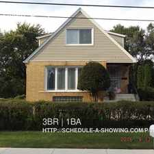 Rental info for 3418 W 136th St in the Blue Island area