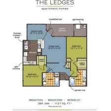 Rental info for $1510 2 bedroom Apartment in New London County Groton