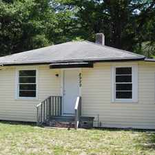 Rental info for 3/1 on Northside in the Riverview area