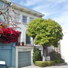 Rental info for Filbert St & Lyon St in the Pacific Heights area