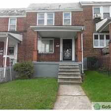 Rental info for Nice rowhome with finished basement hardwood floors! in the Park Circle area