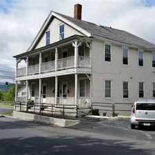 Rental info for Two BR West Lebanon, NH Incl Heat $