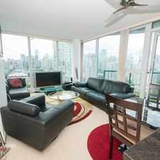 Rental info for 1033 Marinaside Crescent in the Downtown area