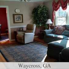 Rental info for Bright Waycross, 3 bedroom, 1 bath for rent