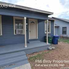 Rental info for 1808 TEXAS AVE in the San Antonio area