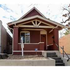 Rental info for 3954 Pecos St in the Sunnyside area