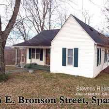 Rental info for 416 E Bronson Street
