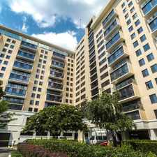 Rental info for Triangle Towers in the Bethesda area