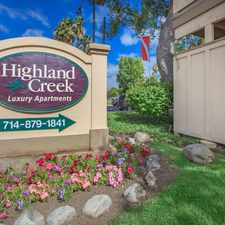 Rental info for Highland Creek Apartment Homes