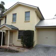 Rental info for Beautiful Townhouse in Bulli in the Wollongong area