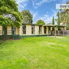 Rental info for Well set back and convenient on large block in the Melbourne area