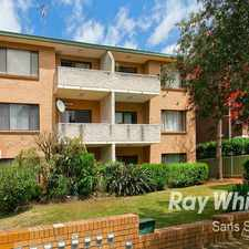 Rental info for Excellent First Home Prime Location in the Kogarah area