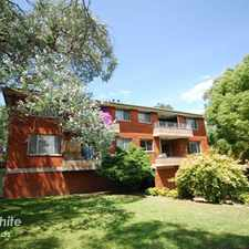 Rental info for RENOVATED TO PERFECTION! in the Parramatta area