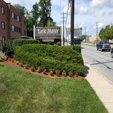 Rental info for Earle Manor Apts