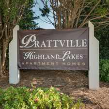 Rental info for Prattville at Highland Lakes Apartment Homes
