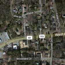 Rental info for Cul de sac location in quiet neighborhood inside the city. Washer/Dryer Hookups!