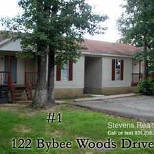 Rental info for 126 Bybee Woods Drive