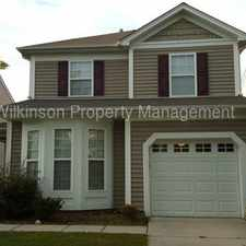 Rental info for West Charlotte Home in Amenity Rich Community