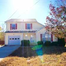 Rental info for 1445 Buchanon Drive in the Clarksville area
