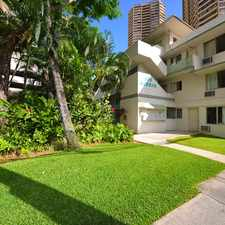 Rental info for Hobron Apartments in the Honolulu area