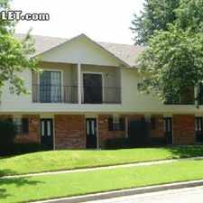 Rental info for Two Bedroom In Tarrant County in the Hurst area