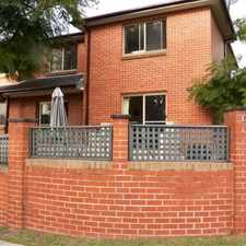 Rental info for MODERN 2 BEDROOM TOWNHOUSE in the Sydney area