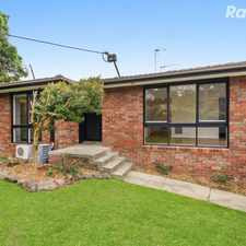 Rental info for Renovated Gem in Tranquil Surrounds in the Melbourne area