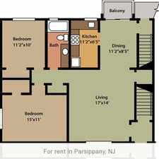 Rental info for 1 bedroom Apartment - Camelot Gardens in Parsippany. Parking Available!