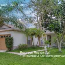 Rental info for 4681 Prarie Point Blvd
